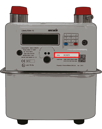 how to find gas meter
