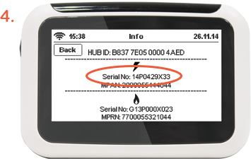 how to find electricity meter number