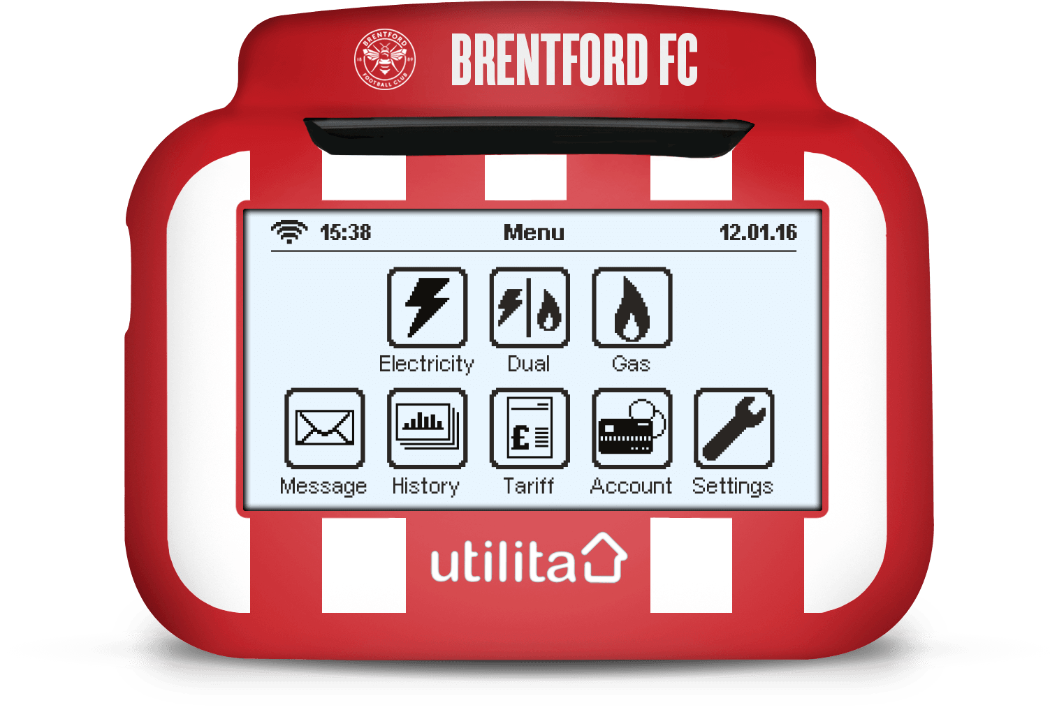 brentford In-Home Display Cover