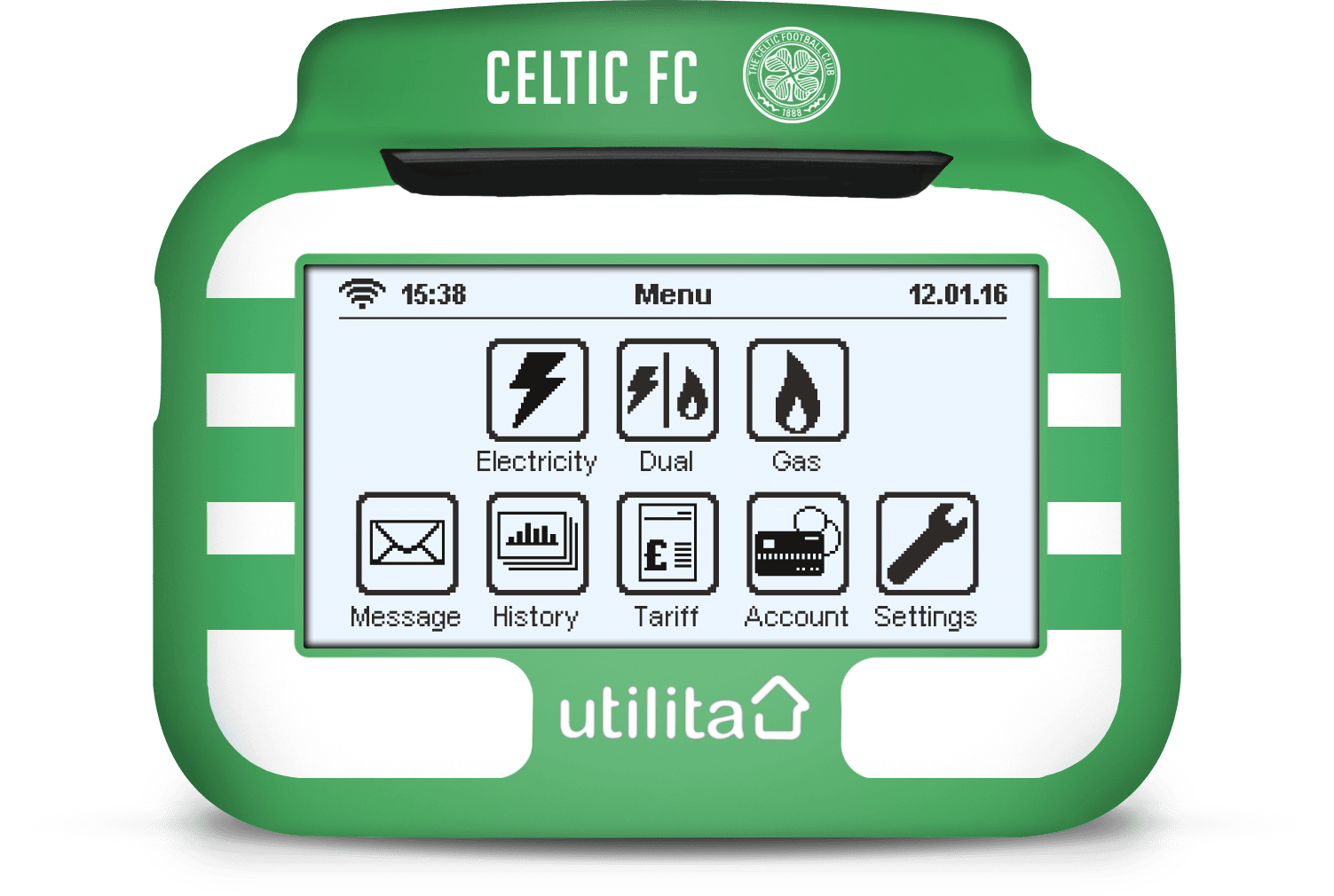 celtic In-Home Display Cover