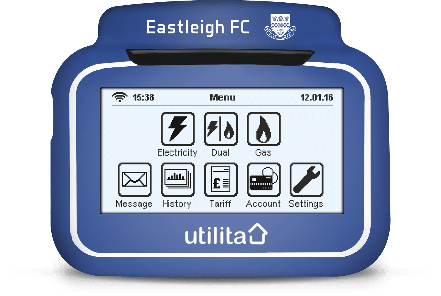 eastleigh In-Home Display Cover