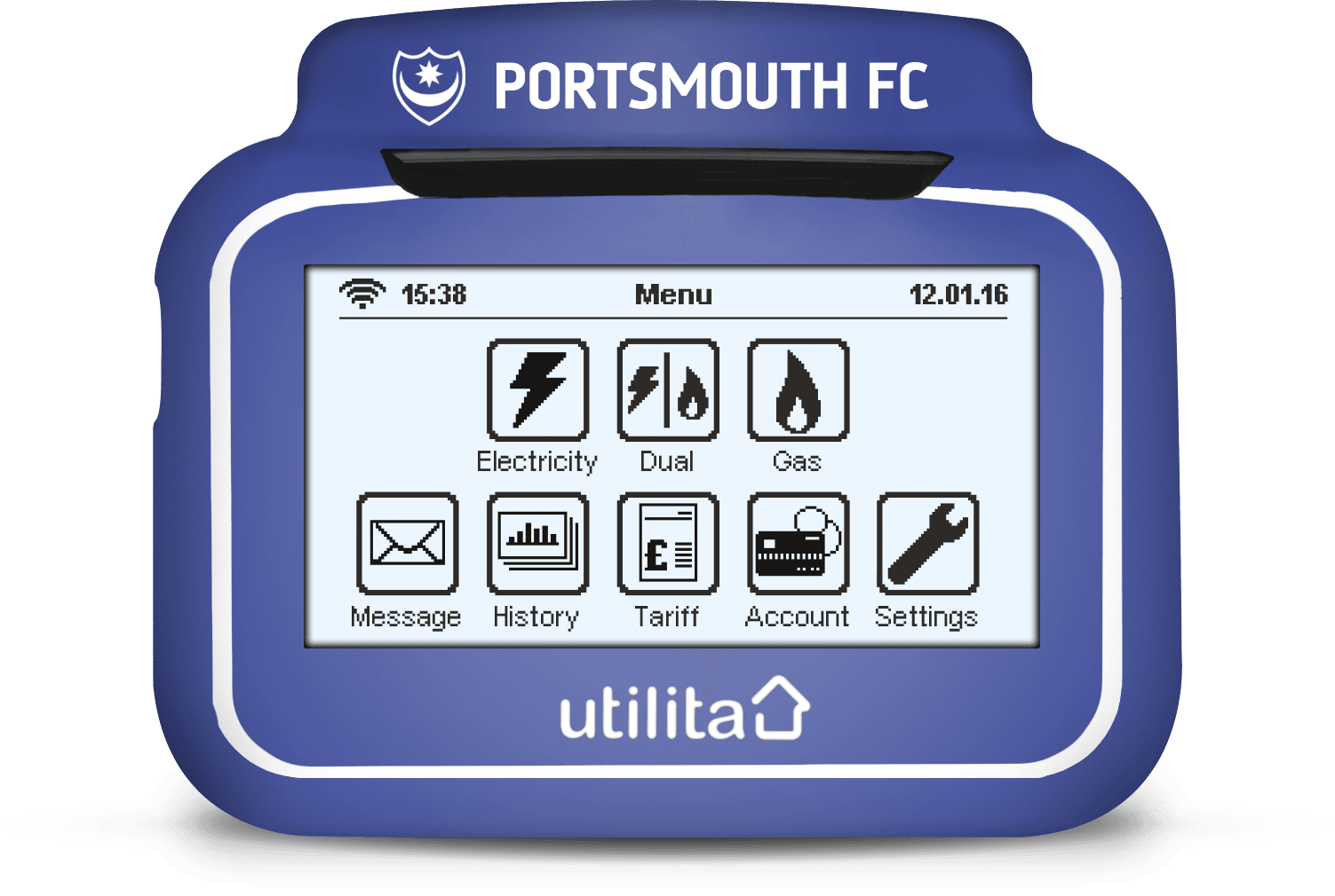 portsmouth In-Home Display Cover