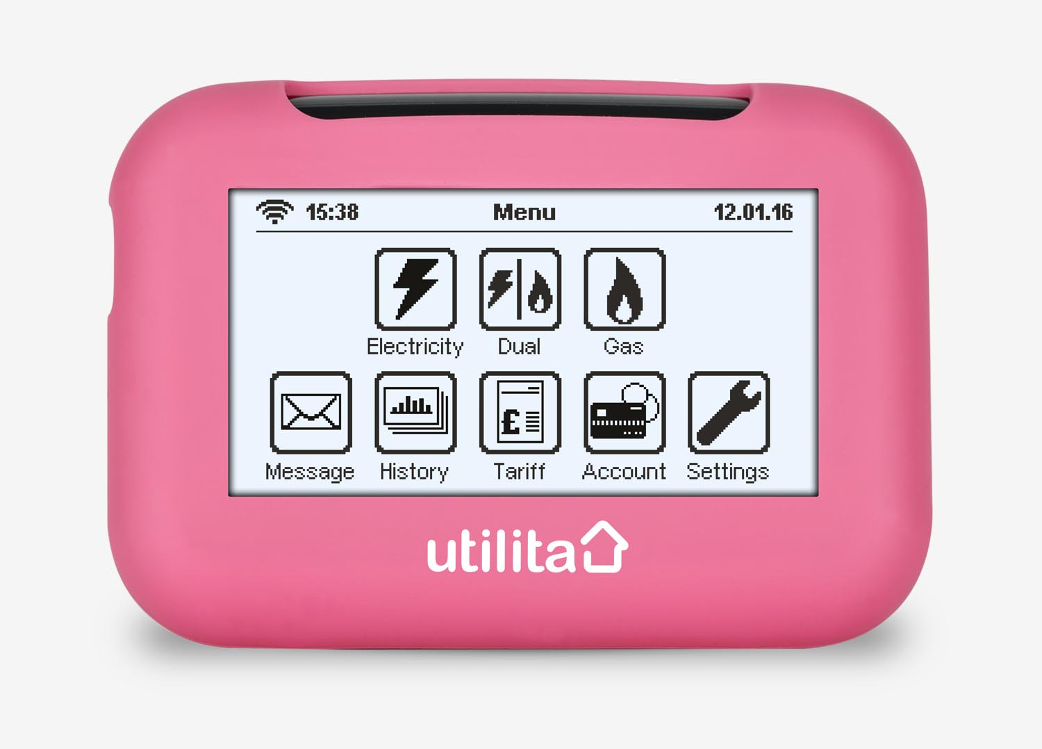 Smart prepayment meter from Utilia Energy